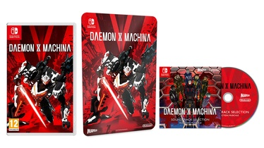 Игра Nintendo Switch Daemon X Machina incl. Metal Plate and Soundtrack CD SWITCH