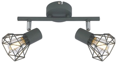 Gaismeklis Candellux Verve Spotlight 2x40W E14 Gray