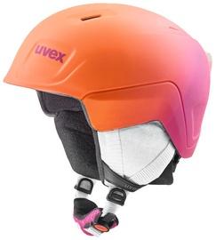 Uvex Manic Pro Kids Helmet Pink Orange Metallic Matt 46-50