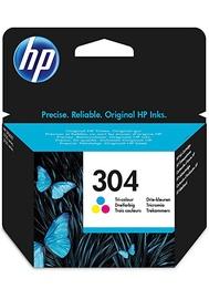 Printera kasetne HP, zila/sarkana/dzeltena/daudzkrāsains