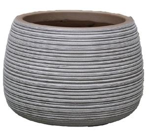 Home4you Flowerpot FLO-3 D26xH18cm Grey
