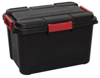 Curver Outback Box With Lid 60l Black/Red