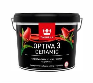 Tikkurila Optiva Ceramic Super Matt 3 BA 2.7l White