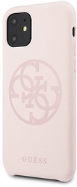 Guess 4G Tone On Tone Back Case For Apple iPhone 11 Pink