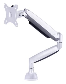 "Multibrackets Single Deskmount 15-27"" Silver"