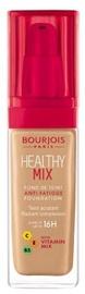 Tonizējošais krēms Bourjois Paris Healthy Mix Anti-Fatigue 16h Foundation Dark Beige, 30 ml