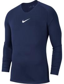 Krekls ar garām piedurknēm Nike Men's Shirt M Dry Park First Layer JSY LS AV2609 410 Dark Blue 2XL