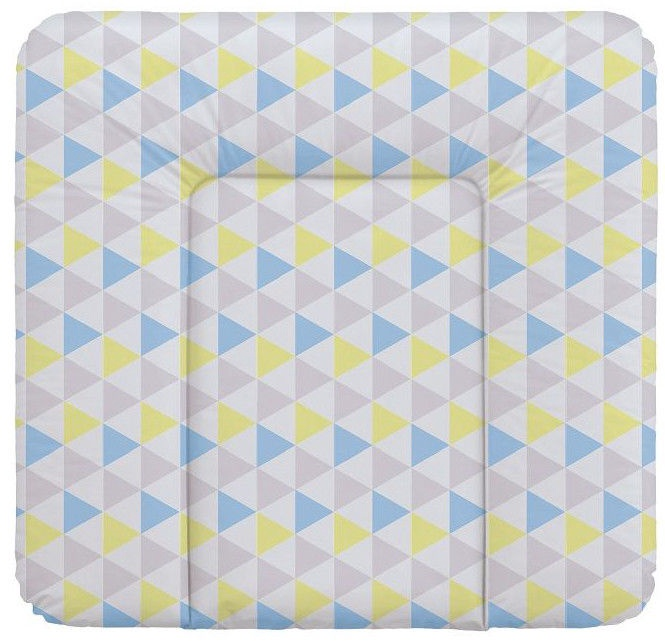 Ceba Baby Soft Changing Mat Medium Triangle Blue/Yellow