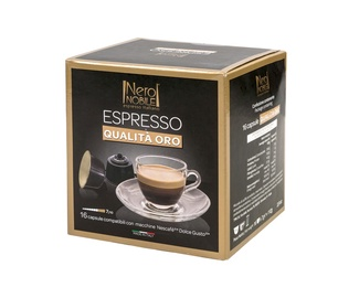 Kafijas kapsulas NeroNobile Dolce Gusto Oro Di Napoli 16 gab.