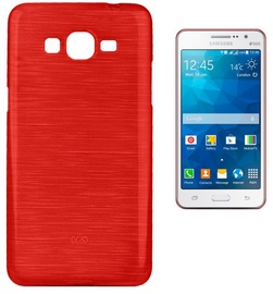 Forcell Jelly Brush Back Case For Samsung G530/G531 Galaxy Grand Prime Red