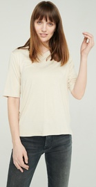 Audimas Lightweight Soft T-Shirt With Extended Back White S