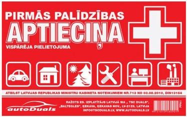 AutoDuals First Aid Kit Plastic Box