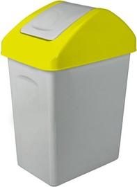 Мусорное ведро Branq Yellow, 25 л
