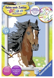 Ravensburger Painting By Numbers Portrait Of A Horse 280636