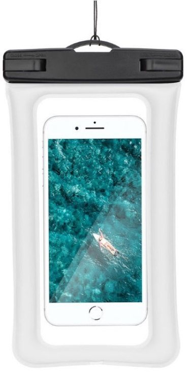 TakeMe Universal Waterproof Air Case For Mobile Devices 6'' White