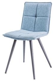 Ēdamistabas krēsls Signal Meble Dario Light Blue