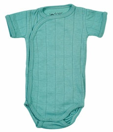 Lodger Solid Romper Short Sleeves Duty Turquoise 62cm