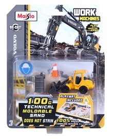 Maisto Work Machines Volvo Set Sand Theme 15428