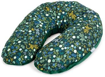 Подушка для беременных Ceba Baby Multi Physio Gekon Velour, зеленый