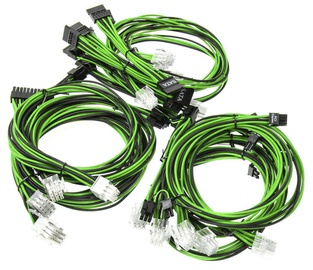 Super Flower Sleeve Cable Kit Black/Green