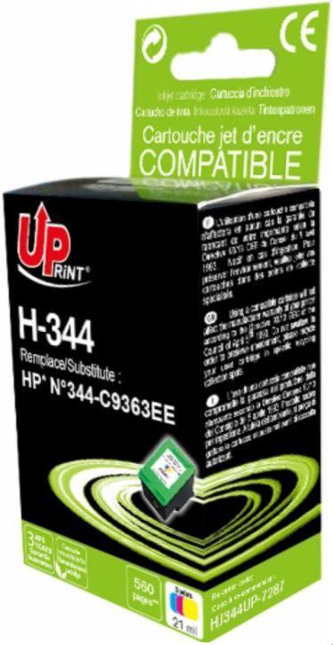 Uprint Cartridge for HP 21ml Colour