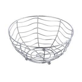 SN Fruit Basket D25cm Silver