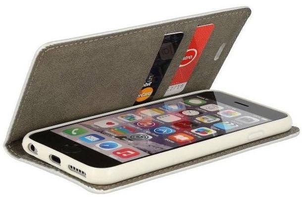 Mocco Smart Modus Book Case For Samsung Galaxy A5 A520 Silver