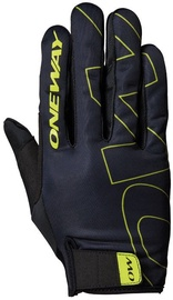 One Way Universal Full Gloves Black/Yellow 7