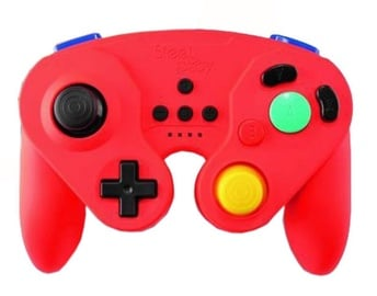 Steel Play Neo Retro Pad Wired Red