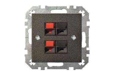 Ligzda Liregus Epsilon Loudspeaker Socket IGL-4-01 E/J Antracite