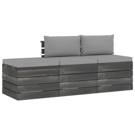 Комплект уличной мебели VLX 3 Piece 3061762, серый, 3 места