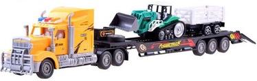 Automašīnas Tow Truck Excavator With Tractor