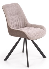 Halmar Chair K393 Gray/Brown