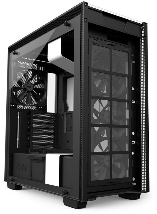 NZXT H700 Mid Tower E-ATX White/Black