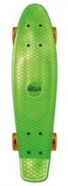 No Rules Fun Skateboard Green