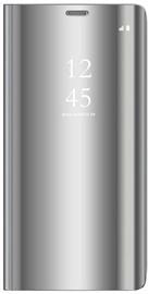 OEM Smart Clear View Book Case For Xiaomi Redmi 8 Silver