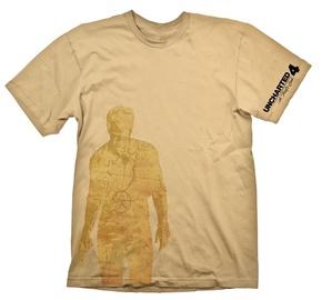 Gaya Entertainment T-Shirt Uncharted 4 Nathan Drake Map Yellow S