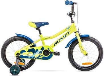 Bērnu velosipēds Romet Tom 16 9'' Green/Blue