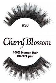 Cherry Blossom 100% Human Hair Eyelashes 30