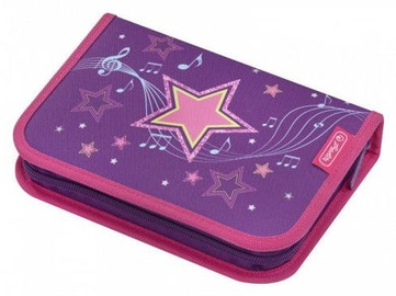 Herlitz Pencil Case 19pcs Girls Mix Melody Star