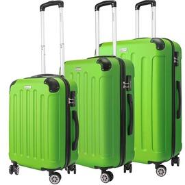 Kesser Travel Case Set 3pcs Green