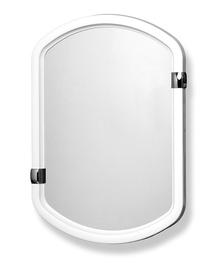 Зеркало Karo-Plast Claudia 12001 White, подвесной, 27x66.5 см