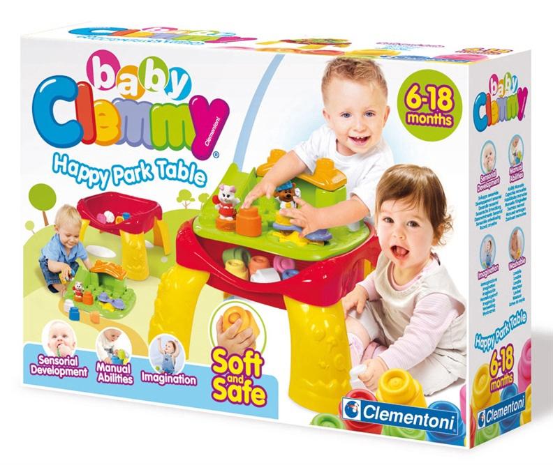 Интерактивная игрушка Clementoni Baby Clemmy Happy Park Table 14817