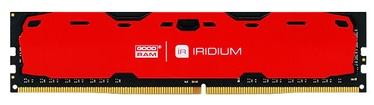 Operatīvā atmiņa (RAM) Goodram IRIDIUM Red IR-R2400D464L15S/8G DDR4 8 GB CL15 2400 MHz