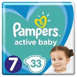 Autiņbiksītes Pampers Active Baby, 7, 33 gab.