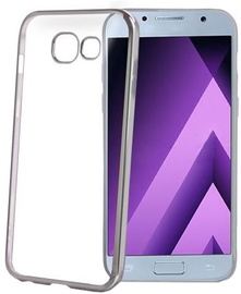 Celly Laser Back Case For Samsung Galaxy A3 A320 Silver