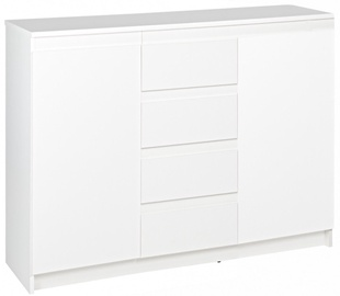 Kumode WIPMEB Armadio A1 2D 4S White, 110x37x85 cm