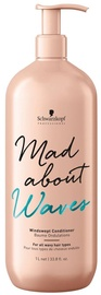 Matu kondicionieris Schwarzkopf Mad About Waves Windswept Conditioner, 1000 ml