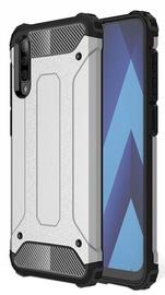 Hurtel Hybrid Armor Back Case For Samsung Galaxy A50 Silver