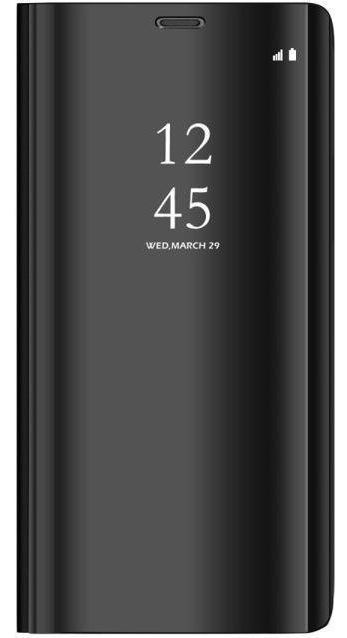 Mocco Clear View Cover Case For Samsung Galaxy A30 Black